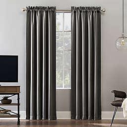 Sun Zero® Oslo Rod Pocket 100% Blackout Window Curtain Panel