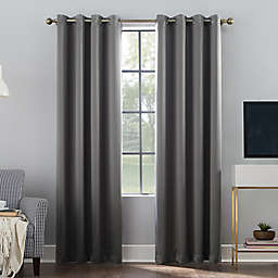 Sun Zero® Oslo Theater Grade Grommet 100% Blackout Window Curtain Panel