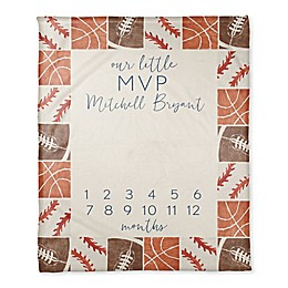 Designs Direct Fleece Milestone Blanket