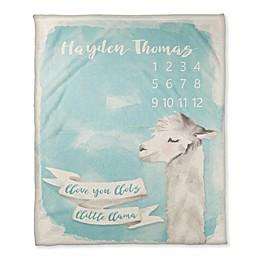 Designs Direct Love You Milestone Throw Blanket