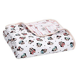 aden + anais™ essentials Disney® Minnie Mouse Blanket in Pink