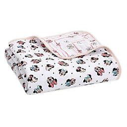 aden + anais™ essentials Disney® Minnie Mouse Blanket in Pink