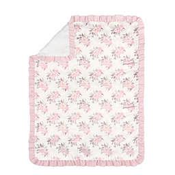 The Peanutshell™ Grace Toddler Blanket in Pink