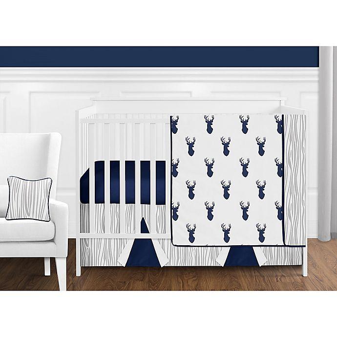 Alternate image 1 for Sweet Jojo Designs® Woodland Deer Crib Bedding Collection