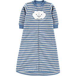 carter's® Stripe Cloud Sleep Bag in Blue/Grey