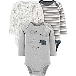 Little Planet by carter's® 3-Pack Organic Cotton Bear Bodysuits