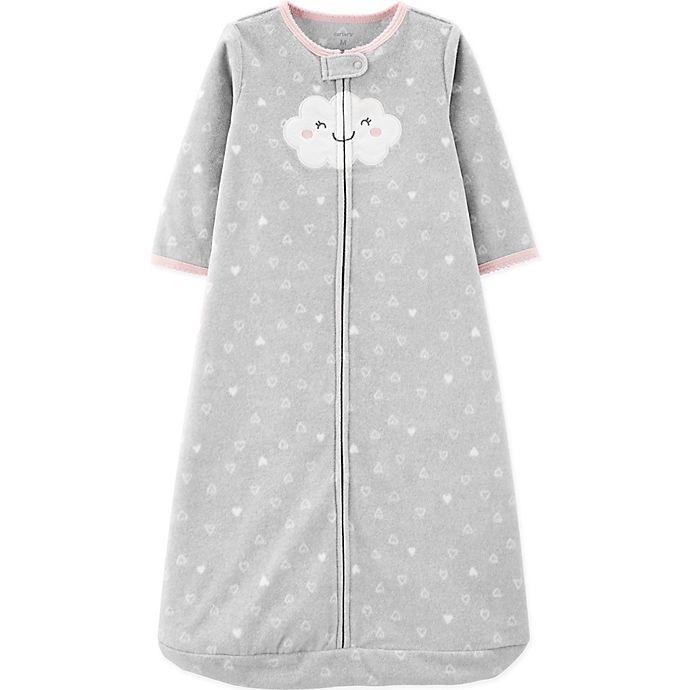 Alternate image 1 for carter's® Cloud Sleepbag in Grey