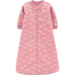 carter's® Mama and Dada Sleep Bag in Pink