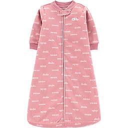 carter's® Mama and Dada Sleep Bag in Pink