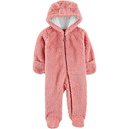 carter's® Sherpa Hooded Pram in Pink