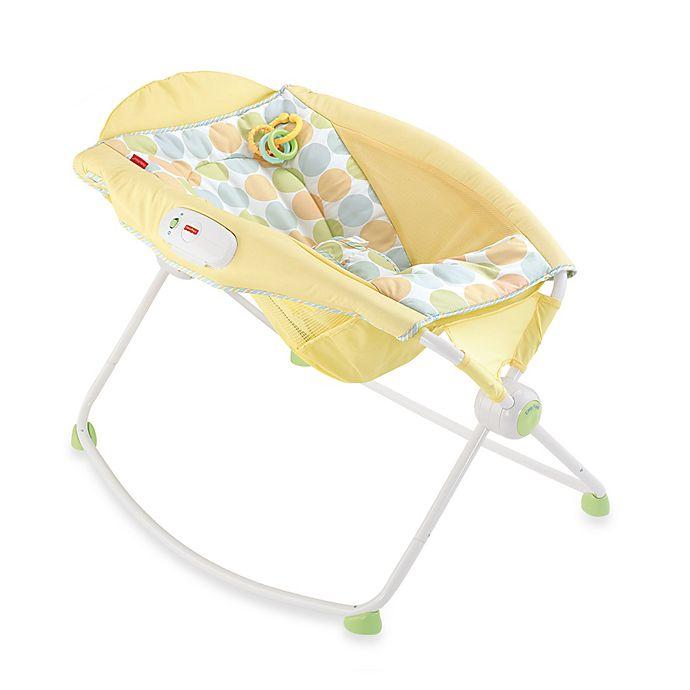 Fisher Price Newborn Rock N Play Sleeper In Yellow Bed Bath Beyond