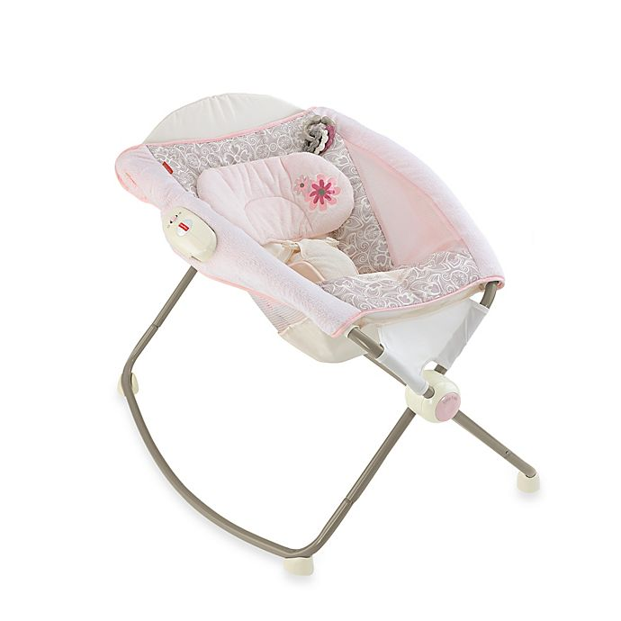 Alternate image 1 for Fisher-Price® My Little Sweetie™ Deluxe Rock 'n Play™ Sleeper in Pink