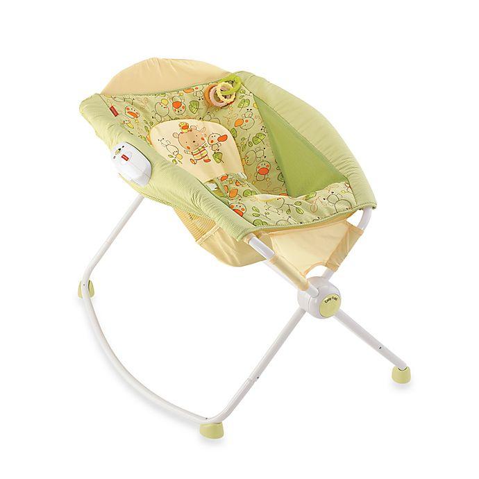 Fisher Price Newborn Rock N Play Sleeper In Duck Buybuy Baby
