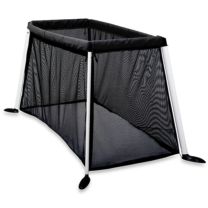 Alternate image 1 for phil&ted's® Traveller™ Porta-Cot in Black