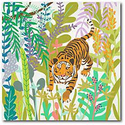 Courtside Market® Jungle Roar II 24-Inch Square Canvas Wall Art