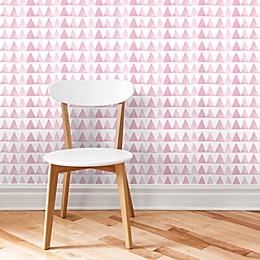 Marmalade™ Pink Triangle Peel & Stick Vinyl Wallpaper