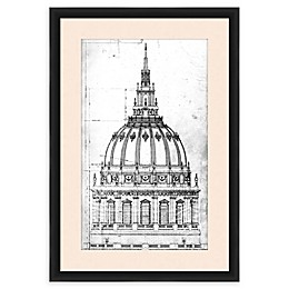 One Kings Lane™ Open House Architecture I 26-Inch x 18-Inch Framed Wall Art