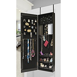 Prinz Over the Door 40-Inch x 14-Inch Mirror and Jewelry Cabinet