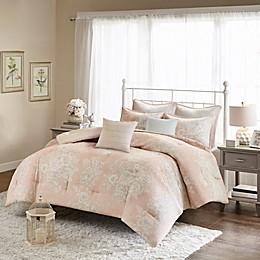 Madison Park Gloria Cotton Printed 7-Piece Comforter Set
