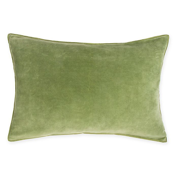 Alternate image 1 for O&O by Olivia & Oliver™ Oblong Throw Pillow in Apple/Flax
