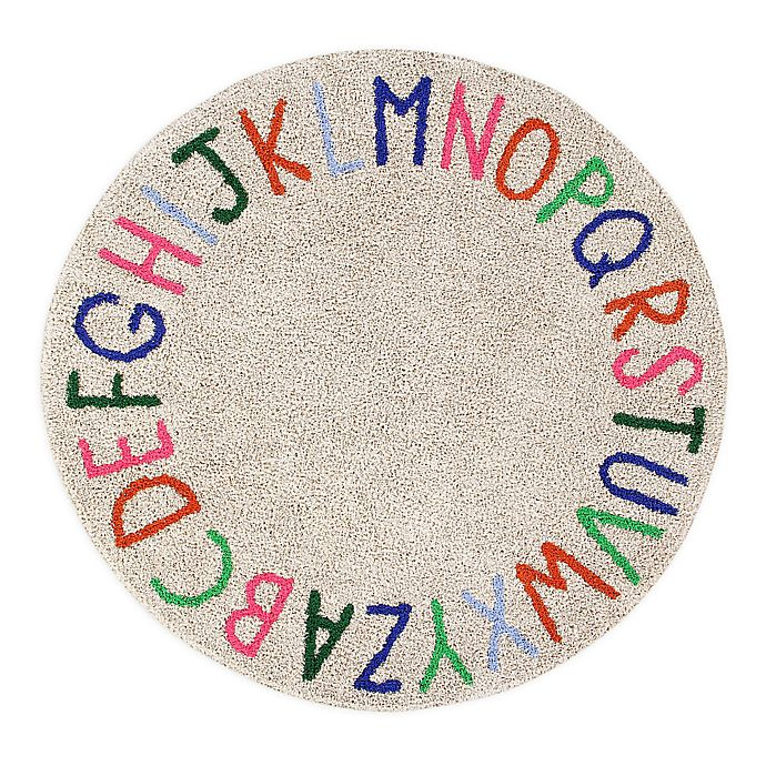 Alternate image 1 for Marmalade™ ABC 5' Round Hand Tufted Multicolor Area Rug