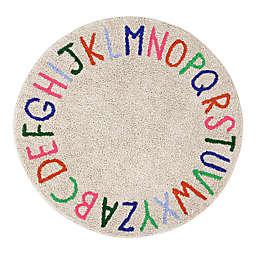 Marmalade™ ABC 5' Round Hand Tufted Multicolor Area Rug