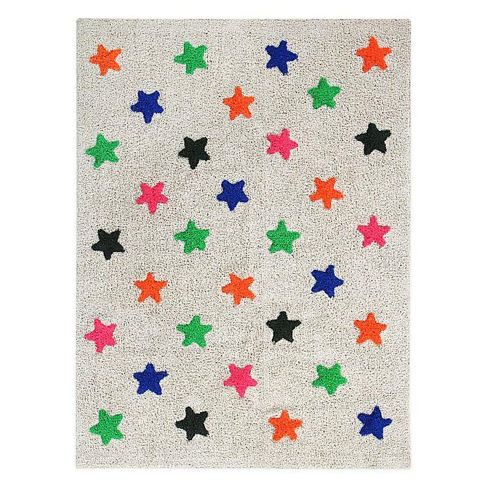 Alternate image 1 for Marmalade™ Stars 4' x 5'3 Hand Tufted Multicolor Washable Area Rug