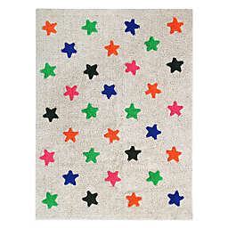 Marmalade™ Stars 4' x 5'3 Hand Tufted Multicolor Washable Area Rug