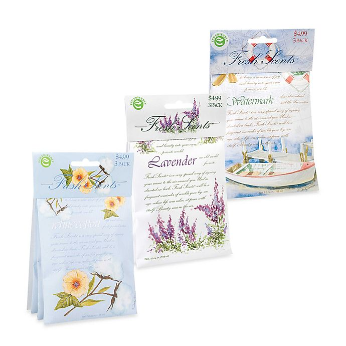 Alternate image 1 for Fresh Scents™ Scent Packets (Set of 3)