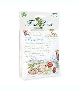 Sobres aromatizantes Fresh Scents™ Seaspray, Set de 3