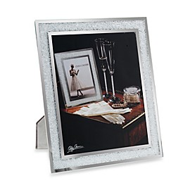 Oleg Cassini Crystal Diamond 8-Inch x 10-Inch Picture Frame