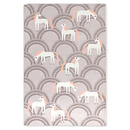 Marmalade™ Unicorn Area Rug in Grey/Pink
