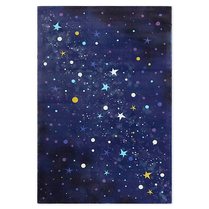 Alternate image 1 for Marmalade™ Starry Sky Area Rug in Midnight