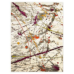 Trina Turk Tanja Amberly 4' x 5' Area Rug in Grey/Purple