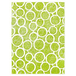 Trina Turk Tanja Martine 4' x 5' Area Rug in Green/Ivory