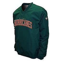 University of Miami Members Windshell Pullover Jacket