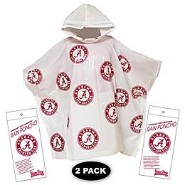 University of Alabama 2-Pack Lightweight Ponchos