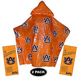 Auburn University 2-Pack Lightweight Ponchos