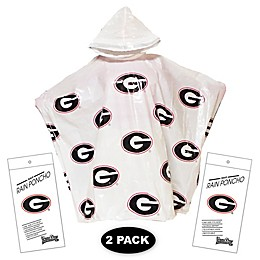 University of Georgia 2-Pack Lightweight Ponchos