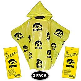 University of Iowa 2-Pack Lightweight Ponchos