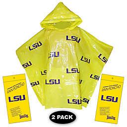 Louisiana State University 2-Pack Lightweight Ponchos