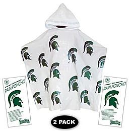 Michigan State University 2-Pack Lightweight Ponchos