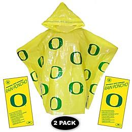 University of Oregon 2-Pack Lightweight Ponchos