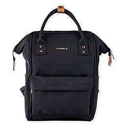 Bababing Mani Diaper Backpack in Black