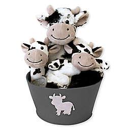 Trend Lab® 4-Piece Cow Gift Set