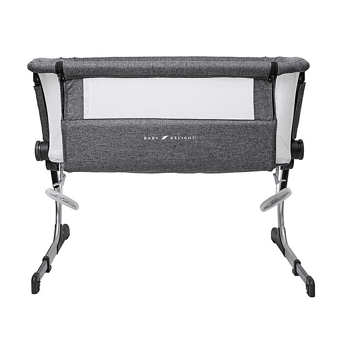 Alternate image 1 for Baby Delight® Beside Me Dreamer Bassinet & Bedside Sleeper in Charcoal Grey
