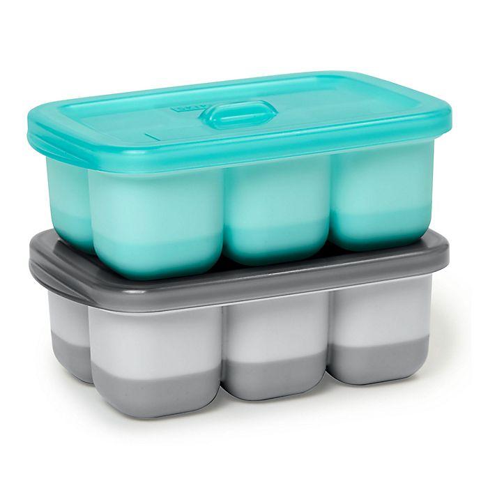 Alternate image 1 for SKIP*HOP® 2-Pack Easy-Fill Freezer Trays