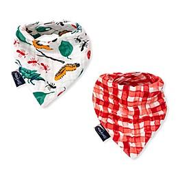Bebe Au Lait® 2-Pack Bugs and Picnic Bandana Bibs