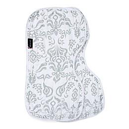 Bebe Au Lait® 2-Pack Ikat Burp Cloths in Black/White