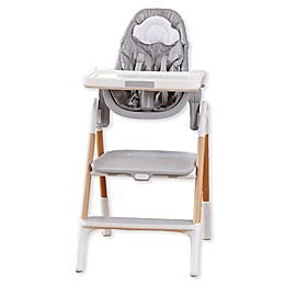 SKIP*HOP® Sit-to-Step Convertible High Chair in Grey/White